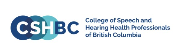 Logo of governing body - The College of Speech and Hearing Health Professionals of BC